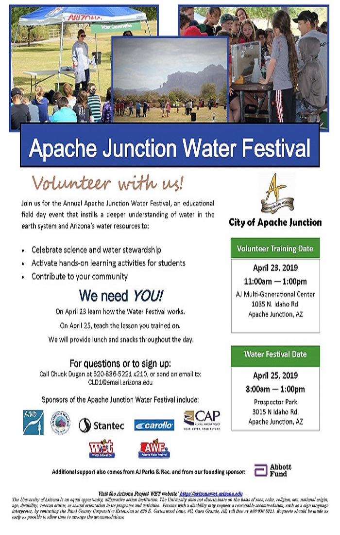APACHE JUNCTION WATER FESTIVAL